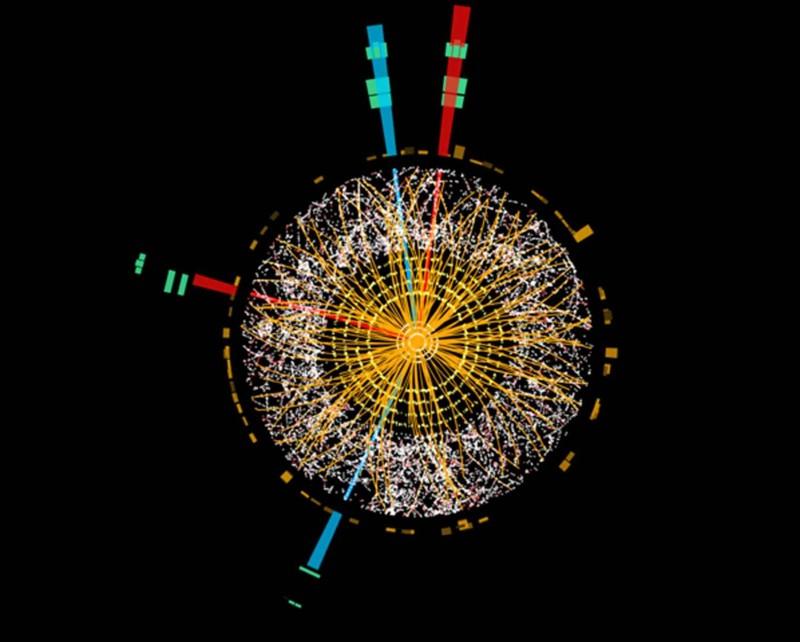 El nacimiento de un bosón de Higgs