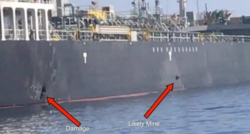 El buque petrolero Kokuka Corageous, atacado en Omán, también podría haber sido atacado con minas