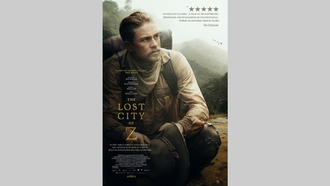 La Ciudad Perdida de Z, estrenada en 2016