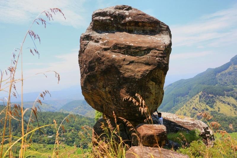 La roca de Gala-Pita-Galas, Sri Lanka, vestigio de un mundo perdido