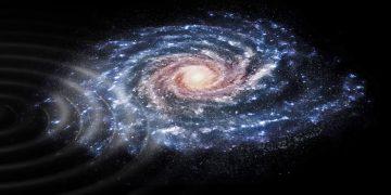 Detectan señales de que nuestra Vía Láctea está chocando contra otra galaxia