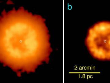 Detectan una estrella no muerta extremadamente rara y nacida de una colisión