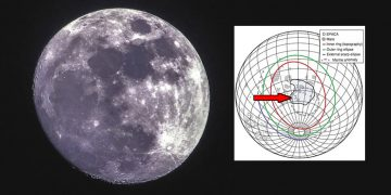 Detectan una misteriosa masa metálica enterrada en la cara oculta de la Luna