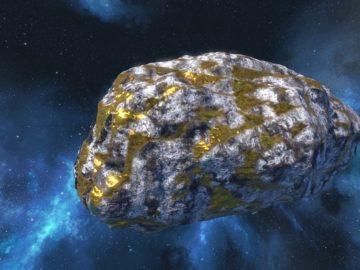 Este asteroide de oro haría que todos en la Tierra seamos multimillonarios