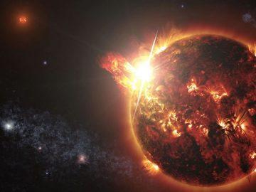 Estrella alienígena lanza una llamarada gigantesca y es la primera en ser detectada
