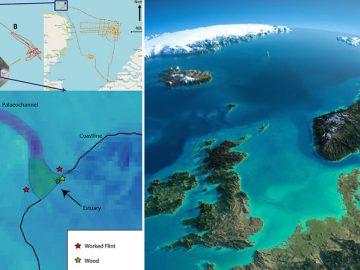 Hallan evidencia de una «Atlántida» británica en el Mar del Norte