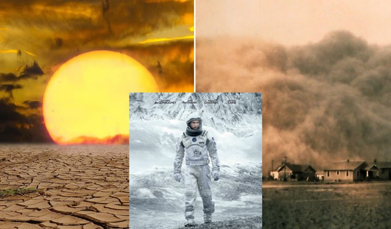 Interstellar y la advertencia de un cambio climático devastador