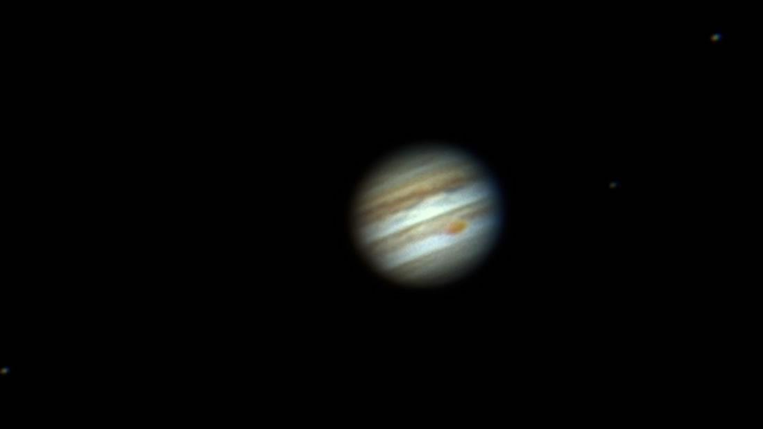 Júpiter se acercará a la Tierra y será visible junto a cuatro de sus lunas