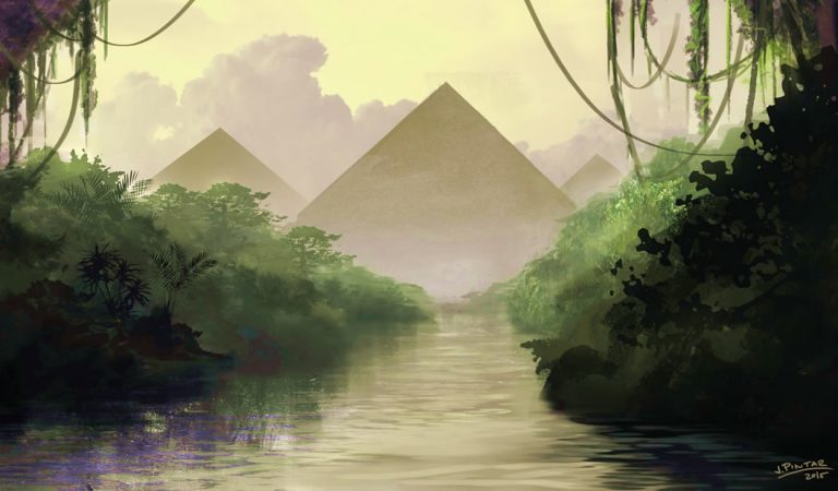 La Gran Pirámide de Giza podría haberse construido sobre una colina natural más grande de lo que se creía