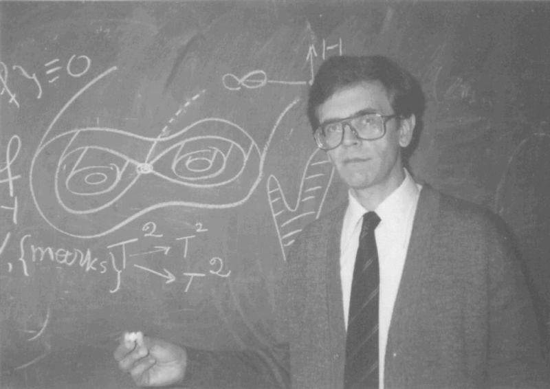 Anatoly T. Fomenko, briilante matemático ruso, que en los últimos años sacudió el mundo académico, con su revolucionaria tesis sobre revisionismo histórico