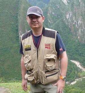 David Crespy el ingeniero francés, que reportó una cámara secreta dentro de Machu Picchu. ¿Tumba del legendario Pachacuti?