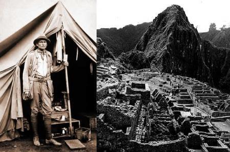 Machu Picchu, y su controversial descubridor, Hiram Bingham