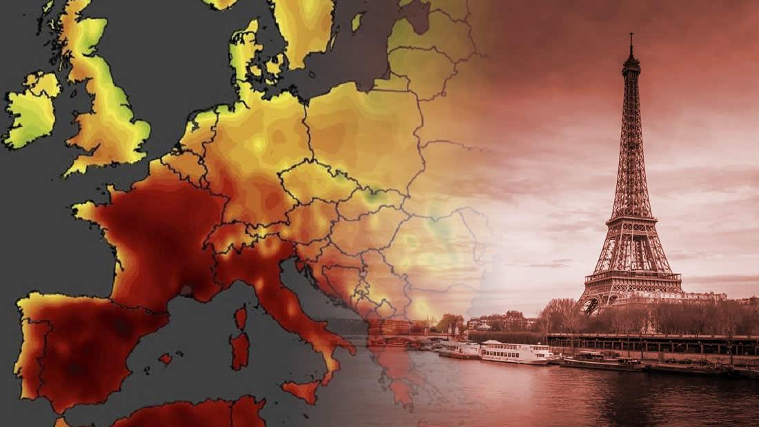 Ola de calor letal en Francia alcanza los 45.9 grados centígrados