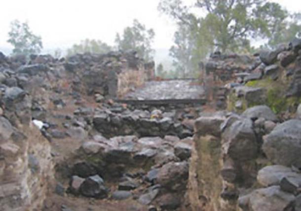 Imagen de baja calidad de la Puerta de la Ciudad de Bethsaida que fue descubierta en excavaciones el año pasado