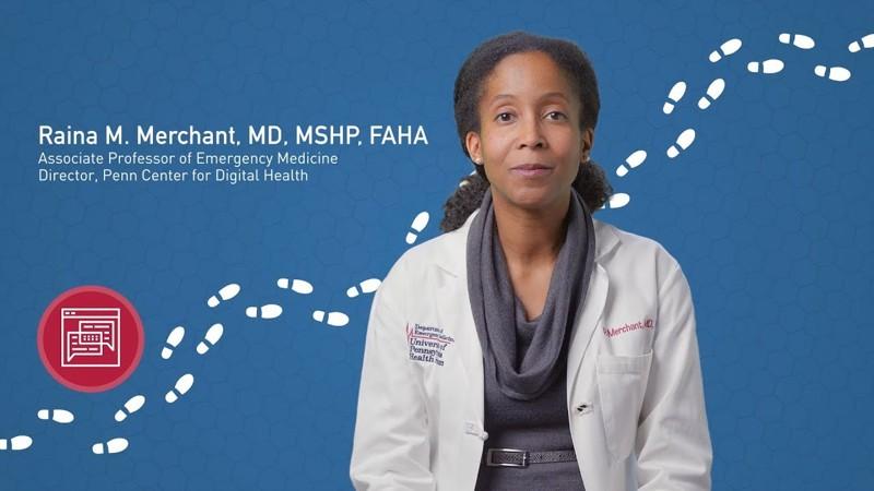 Raina Merchant, investigadora senior de la University of Pennsylvania y directora del Centro de Salud Digital de Penn Medicine