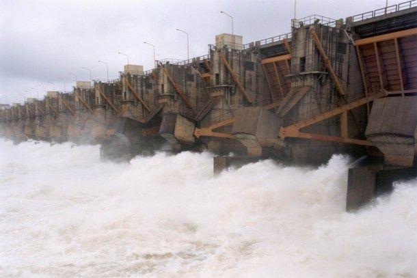 Colapso de la represa de Iguazú