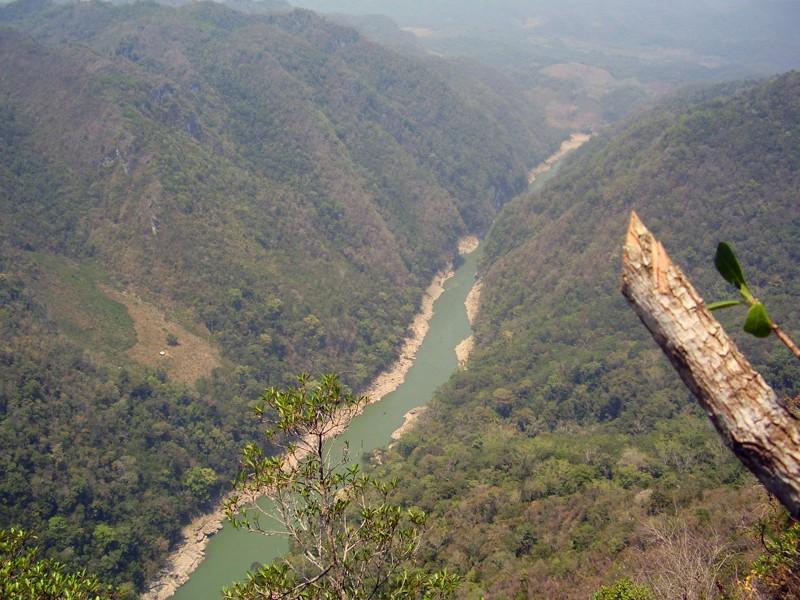 Reserva Ecológica«Cañon del Usumacinta», municipio de Tenosique, Tabasco