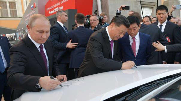 Rusia y China mejoran sus relaciones en medio de la guerra comercial