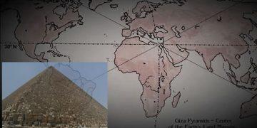 ¿Sabías que la Gran Pirámide de Egipto se ubica en el punto central de la Tierra?