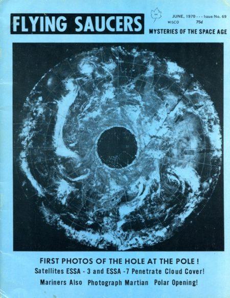 La fotografía del satélite Essa 7 que fuera presentada por Ray Palmer, como evidencia de las aperturas polares ¿Tierra Hueca u obturación de la lente? La discusión está servida