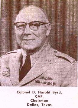 El multimillonario Texano Harold Byrd, patrocinador de Byrd e implicado en la muerte de JFK
