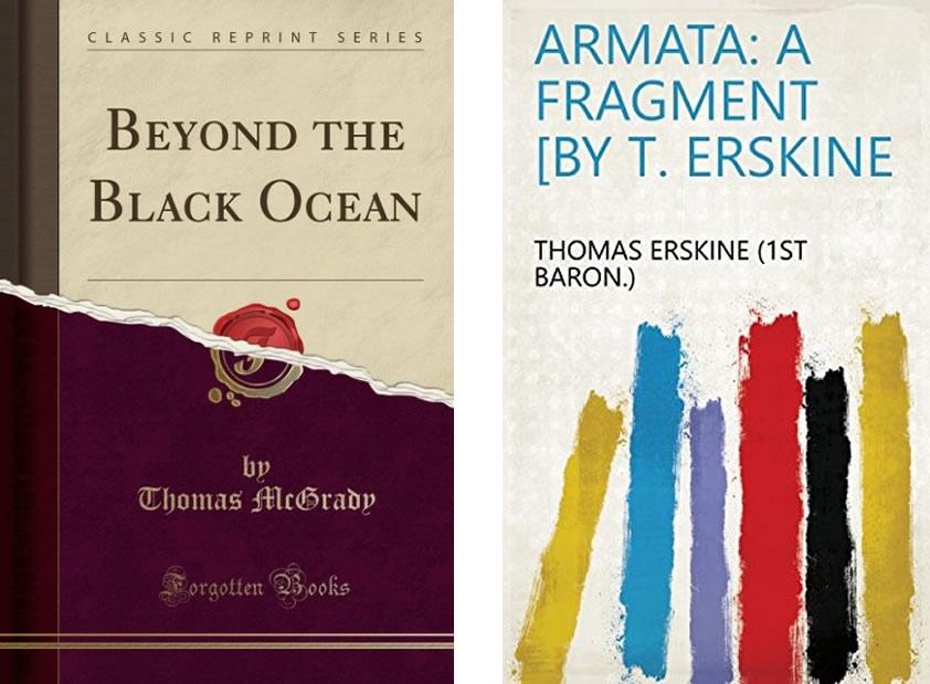 Dos de las novelas del siglo XIX, que pudieron haber influenciado a Giannini