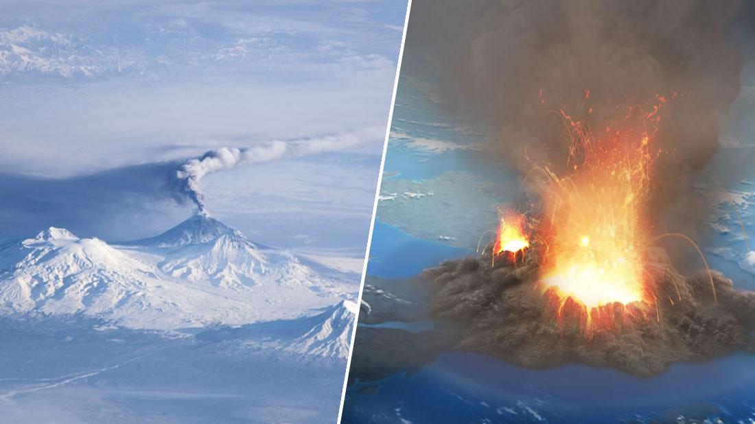 Un volcán ruso que estaba extinto ha despertado y podría desatar una erupción como la de Pompeya