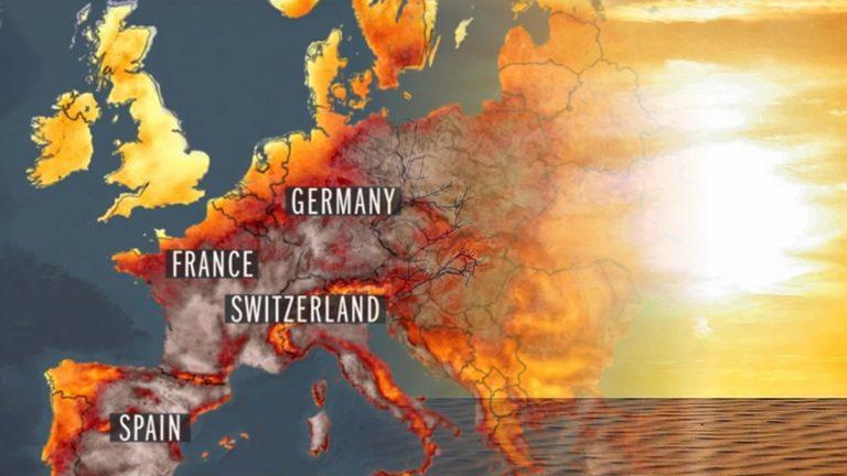 Una infernal ola de calor está llegando a Europa y podría ser devastador
