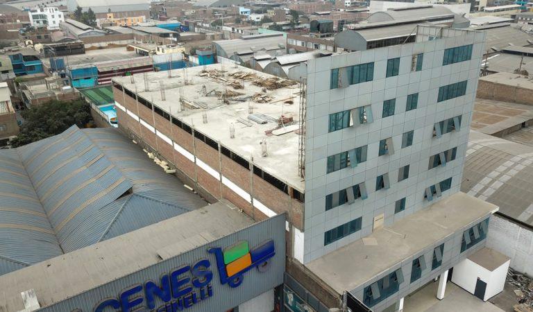 Universidad de Perú ostentaba una torre de 7 pisos que solo era una fachada falsa