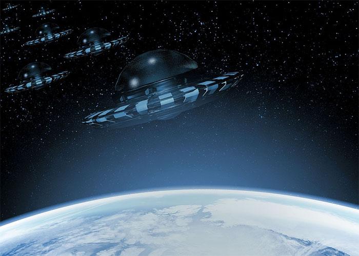 Visita de naves alienígenas