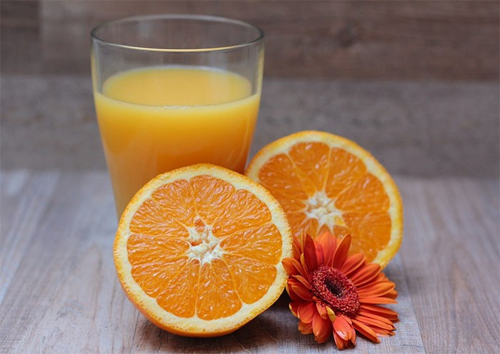 La naranja contiene mucha vitamina C