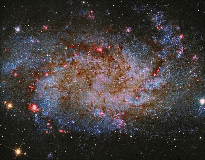 Galaxia Messier 33 o Conocida como Galaxia del triangulo