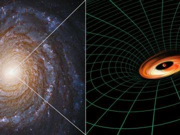 Astrónomos descubren un disco «imposible» alrededor de un agujero negro supermasivo