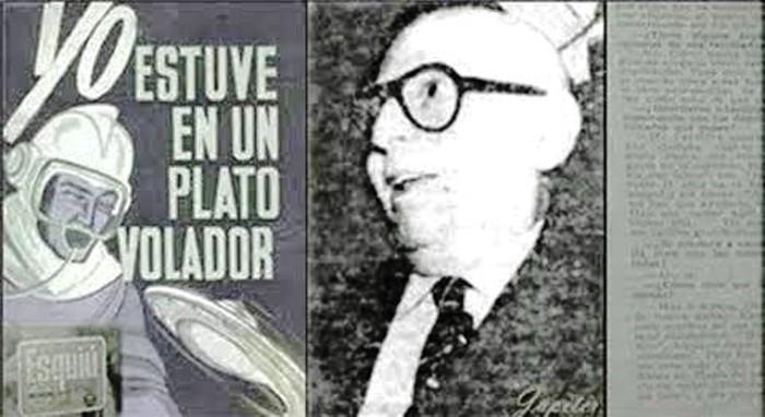 Parravicini y la entrevista que concediera a varios medios argentinos, relatando su abducción alienígena, en las inmediaciones del obelisco durante 1960