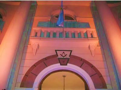 Fachada de la Gran Logia de Libres, y Aceptados Masones