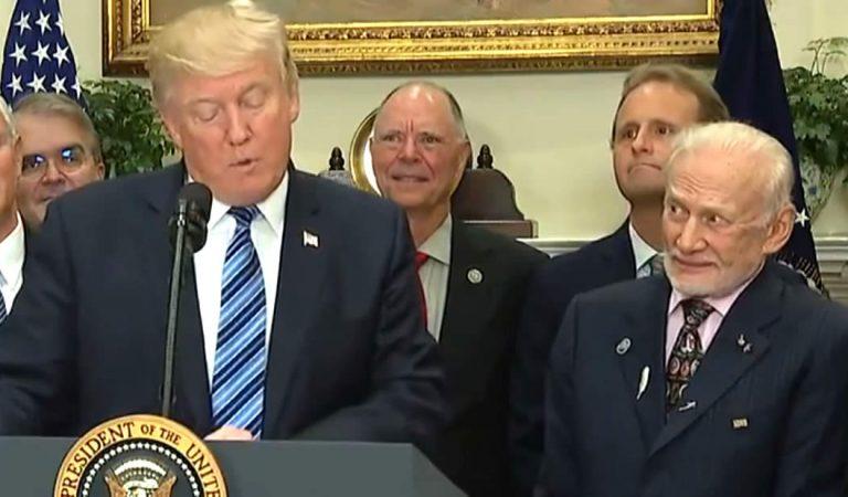 Buzz Aldrin dice que el programa espacial de la NASA y Trump es «una gran decepción»