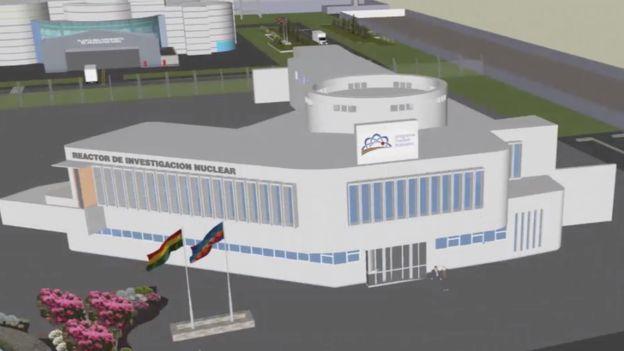 Modelo de reactor nuclear que se construirá en Bolivia