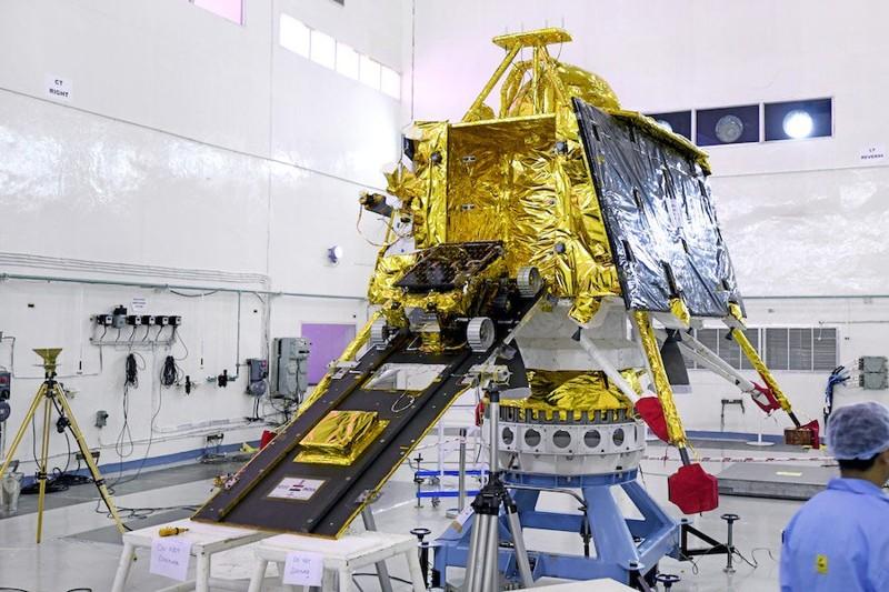 El aterrizador lunar Vikram