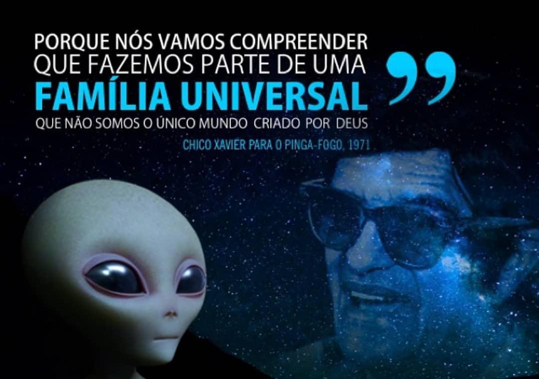 La profecía de Chico Xavier ha sido aprovechada por medios masivos para publicitar un contacto alienígena el 20 de julio de 2019