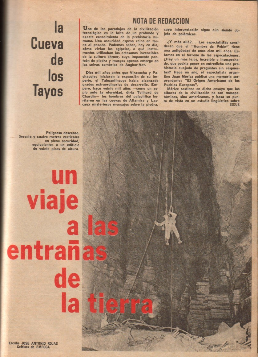 Artículo publicado por una revista ecuatoriana