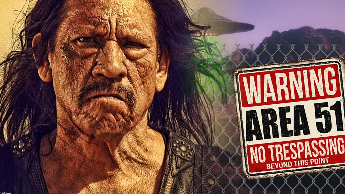Llegan los refuerzos: Danny Trejo «Machete» 'se prepara' para ir al Área 51