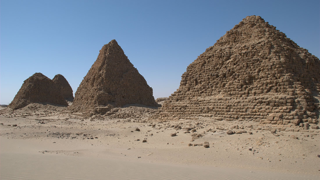 Exploración submarina en las Pirámides de Sudán, la primera luego de casi un siglo
