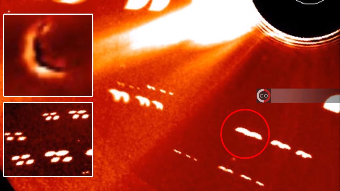 Enormes anomalías en formación cerca del Sol son captadas por sonda espacial