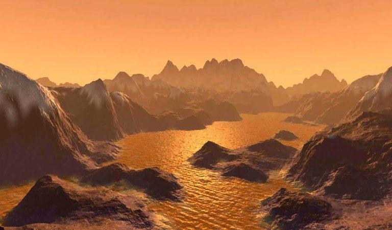 Hallan misteriosas murallas que encierran lagos en la luna Titán