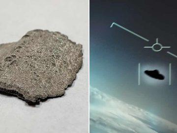 Organización OVNI afirma haber obtenido materiales desconocidos para la ciencia