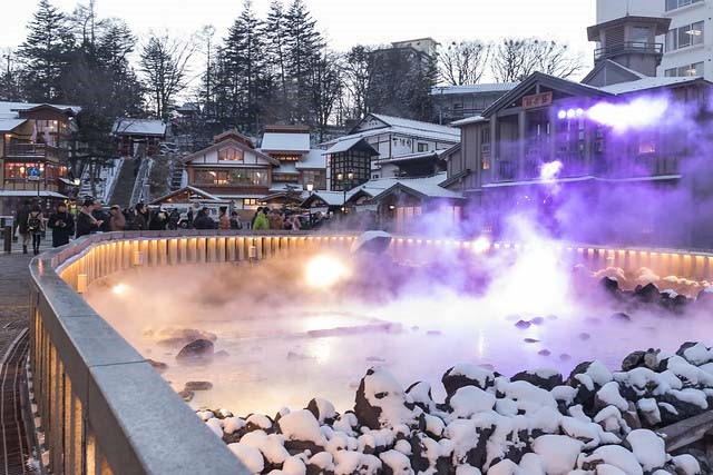 Aguas termales de Kusatsu Onsen