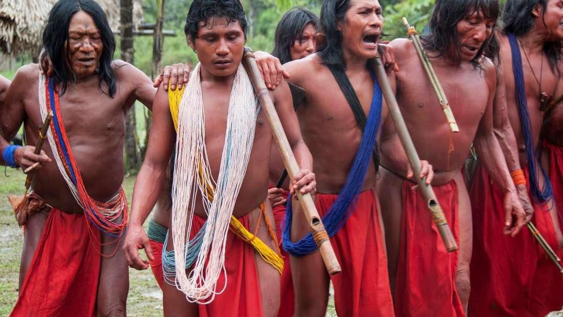 Los waiãpi fueron casi destruidos por las invasiones de los mineros de sus tierras en los años setenta. Ahora, se enfrentan a una amenaza renovada de los mineros, y al menos un líder ha sido asesinado