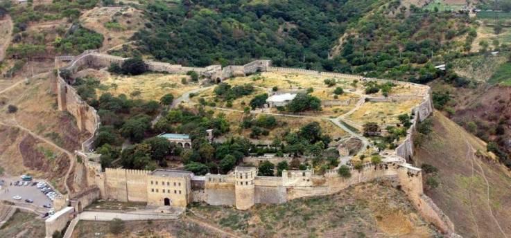 La ciudadela de Naryn-Kala