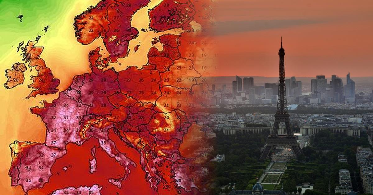 Nueva ola de calor golpea a Europa: Francia, España, Reino Unido, Países Bajos y Alemania sufren altas temperaturas