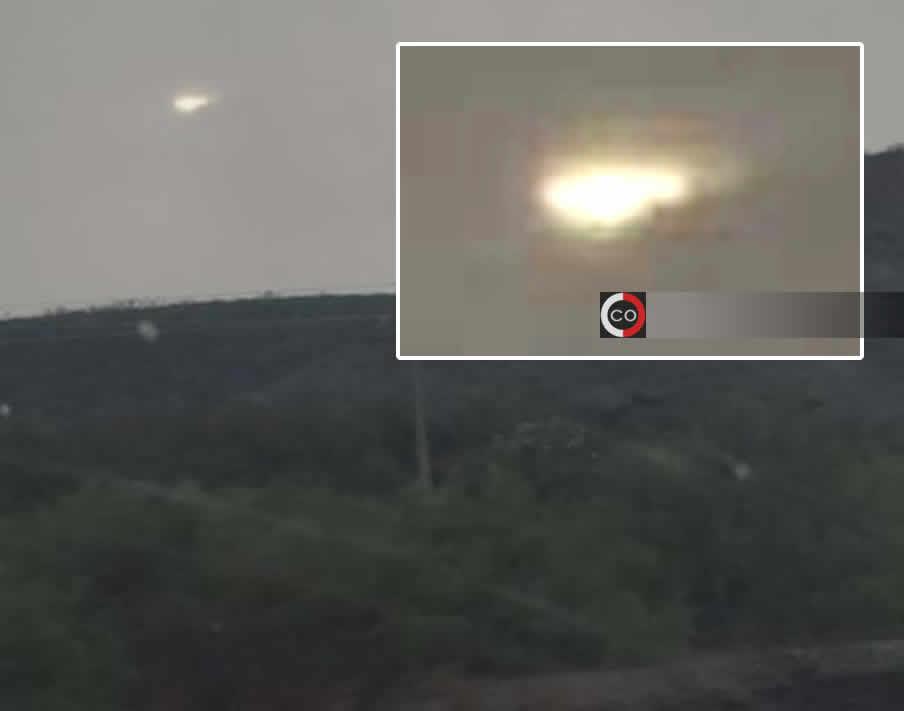 Intenso objeto luminoso es grabado surcando los cielos de México